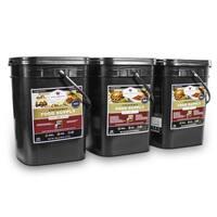 Wise Company 360 Servings Emergency Survival Food Storage - Black - 360 Servings