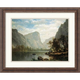 Albert Bierstadt 'Mirror Lake, Yosemite Valley' Framed Art Print