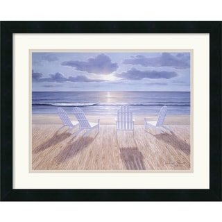 Diane Romanello 'Friends and Lovers' Framed Art Print