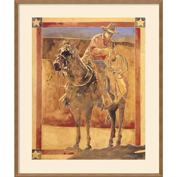 Michael Swearngin 'Rugged Spirit' Framed Art Print