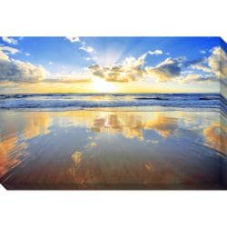 Gallery Direct Golden Beach Oversized Gallery Wrapped Canvas
