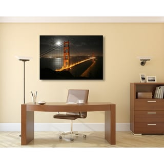 Gallery Direct Golden Gate Bridge Oversized Gallery Wrapped Canvas