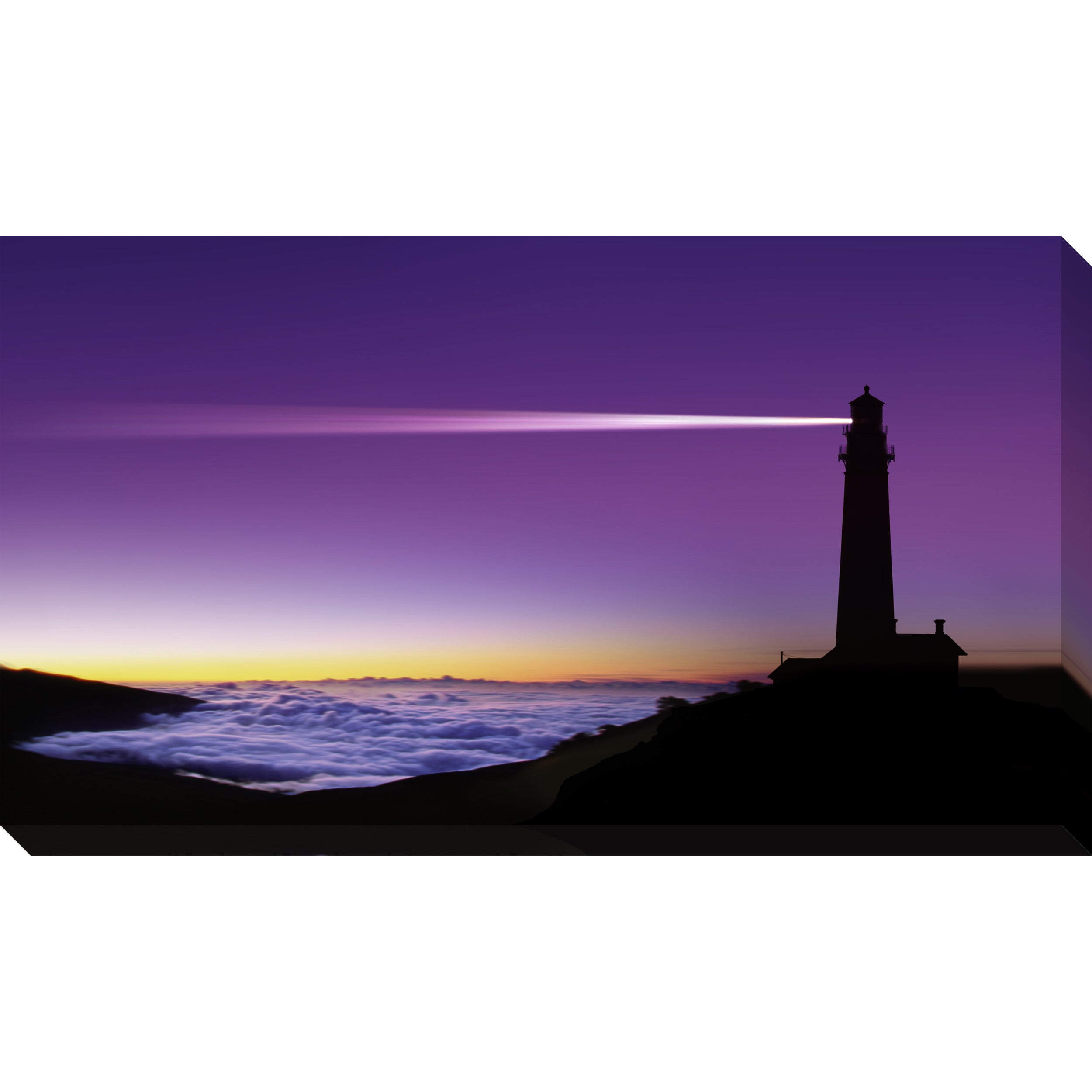 Gallery Direct Light House Oversized Gallery Wrapped Canvas