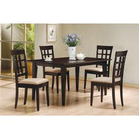 60 Inch Espresso Wood Dining Table Free Shipping Today