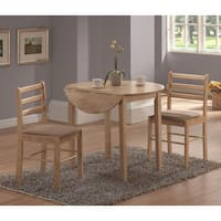 Copper Grove Guy Natural 3-piece Dinette Set