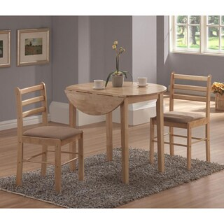 Laurel Creek Mabel Natural 3-piece Dinette Set