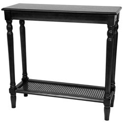 Rectangular Wood 29-inch Classic Design Console Table (China) - Thumbnail 2