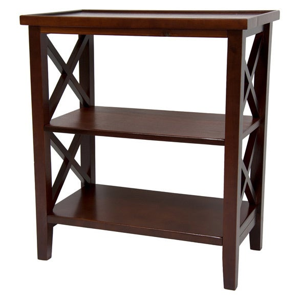 Handmade Wood 26-inch Architectural Bookcase Table (China