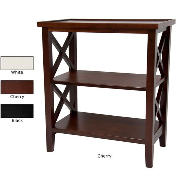 Handmade Wood 26-inch Architectural Bookcase Table (China)