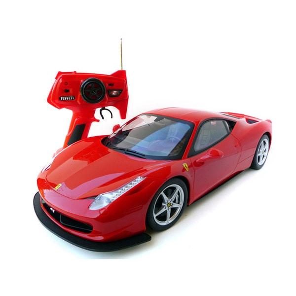 Tri Band 1:10-scale Remote Control Ferrari 458 Italia (RTR)