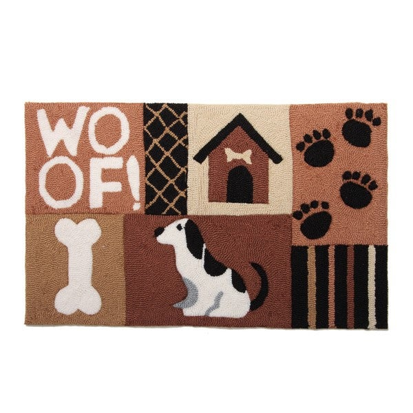 Dog Bone Pet Rug: Shop Woof, Dog, House And Bone Pet Rug And Diner Mat