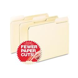 Pendaflex Manila 1/3 Top Tab Cutless File Folders (Box of 100)