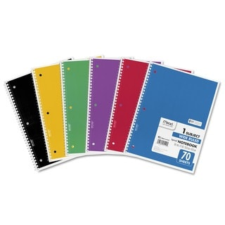 Mead WIDE MARGIN RULE 8 X 10 1/2 SPIRAL BOUND NOTEBOOK