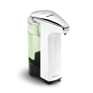 simplehuman 8-ounce White Compact Sensor Pump for Soap or Sanitizer|https://ak1.ostkcdn.com/images/products/6325956/P13951150.jpg?_ostk_perf_=percv&impolicy=medium