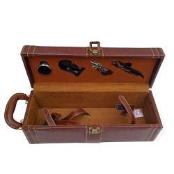 Amerileather Single Wine Case with Accessories (31-5) - Thumbnail 1