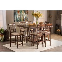 Copper Grove Barna Contemporary Brown Wood 7-piece Dining Set