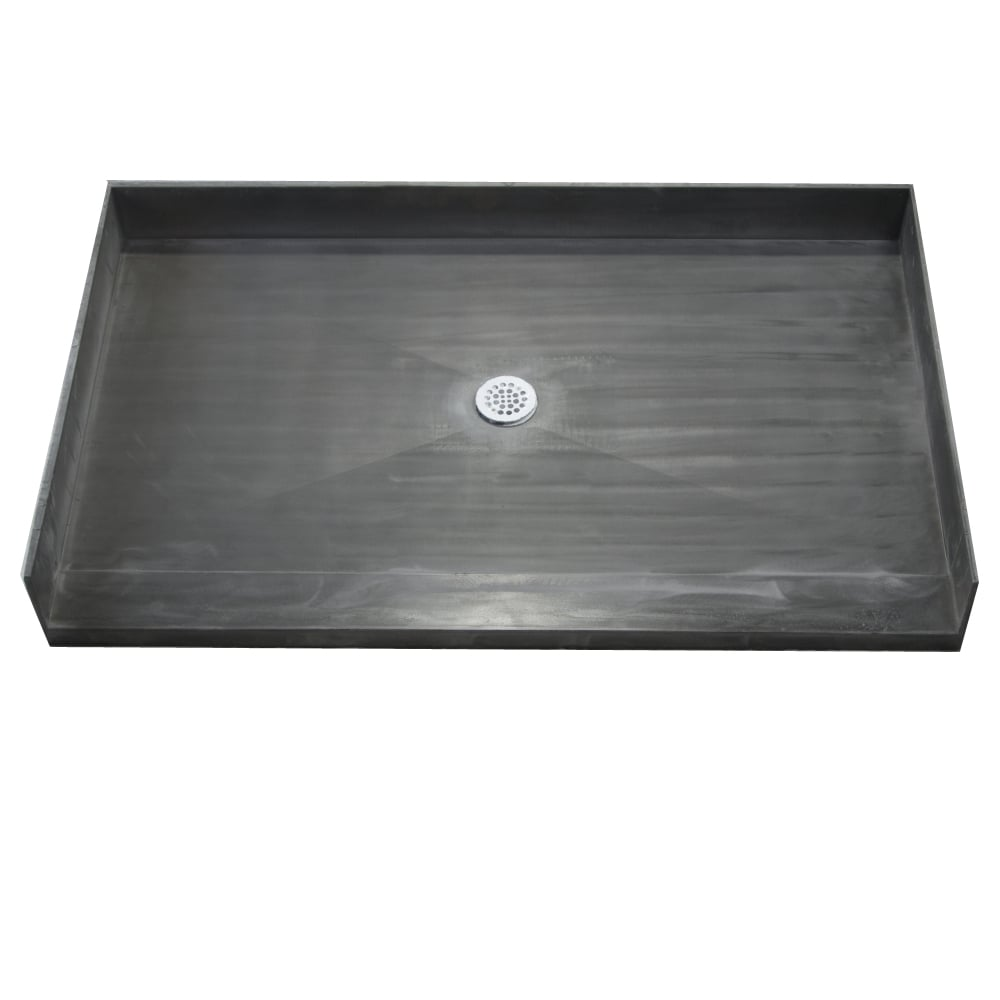 54 Inch Shower Pan.Details About Redi Base 30 X 54 Barrier Free Shower Pan With Center Drain Black