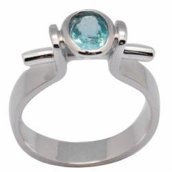 De Buman Sterling Silver Apatite Ring