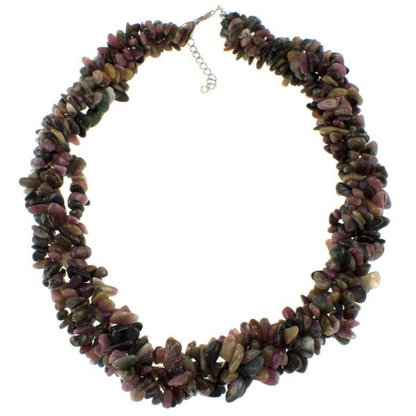 Pearlz Ocean Tourmaline Chip Necklace