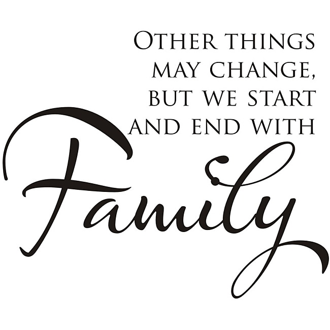 Design on Style 'Other Things May Change' Vinyl Wall Art Quote