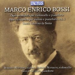 Giulio Giurato - Bossi: Complete Works for Cello & Piano