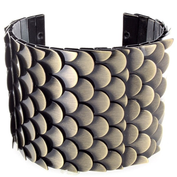 Dragon Scale Cuff Bracelet