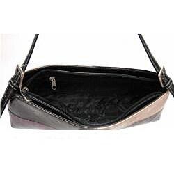 Dasein Patent Leatherette Shoulder Bag - Thumbnail 1