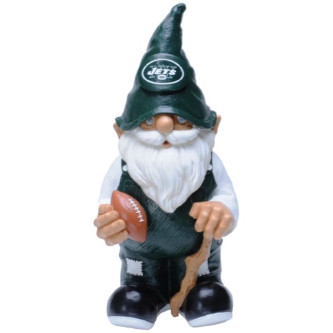 New York Jets 11-inch Garden Gnome - Thumbnail 0