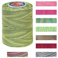 Star Mercerized Variegated 1200-Yard Two-Tone Cotton Thread