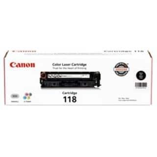 Canon 118 Original Toner Cartridge - Black https://ak1.ostkcdn.com/images/products/6328404/Canon-118-Toner-Cartridge-Black-P13953200.jpg?impolicy=medium