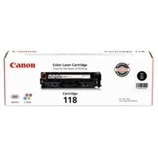 Canon 118 Original Toner Cartridge - Black
