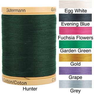 Natural Solids 876-Yard 100-Percent Cotton Thread