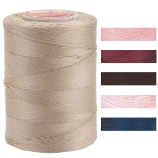 Star Mercerized Solids Three-ply 1200-yard Cotton Thread Spool