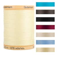 Gutermann Natural Solids 876-Yard 100-percent Natural-cotton Thread