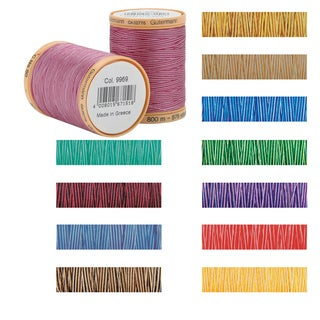 Gutermann Natural Variegated 876-yard 100-percent Cotton Thread