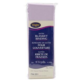 Wrights Single Fold Satin Blanket Binding (4.75Yards)