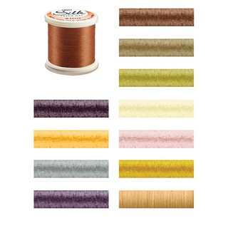 Silk 100 Weight 200-Meter Thread in Multiple Colors