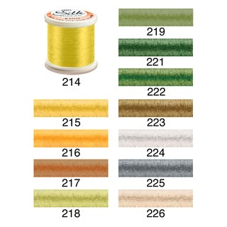 YLI 100-Percent Pure Filament Silk 100-Weight 200-Meters Thread (Option: 217)