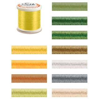YLI 100-Percent Pure Filament Silk 100-Weight 200-Meters Thread (More options available)