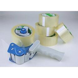 bush tape dispenser plus 5 rolls packaging tape