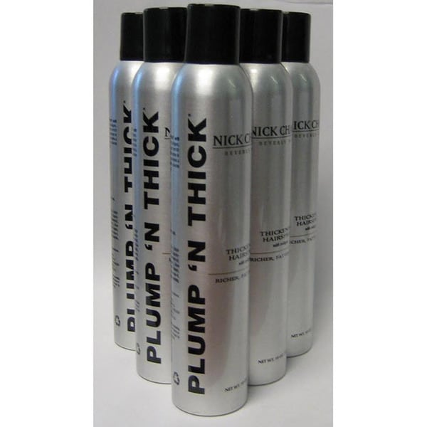 Nick Chavez Plump N Thick Thickening Hair Spray Pack Of 6