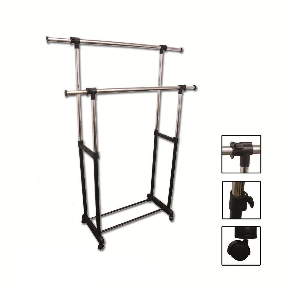 Double Levers Clothes Rack Free Shipping Today