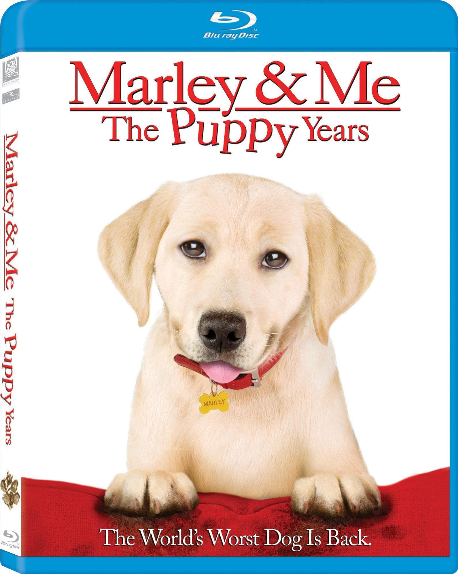 Marley & Me: The Puppy Years (Blu-ray Disc)