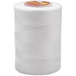 Star Mercerized Solids 1200-yard White Cotton Thread