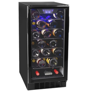 Koldfront 30 Bottle Built-In Single Zone Wine Cooler Sold by Living Direct