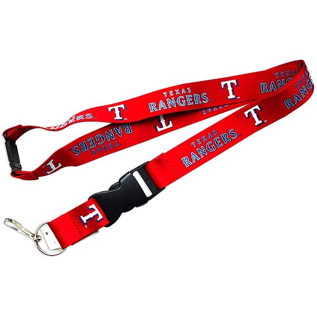 Aminco International Texas Rangers Red Lanyard