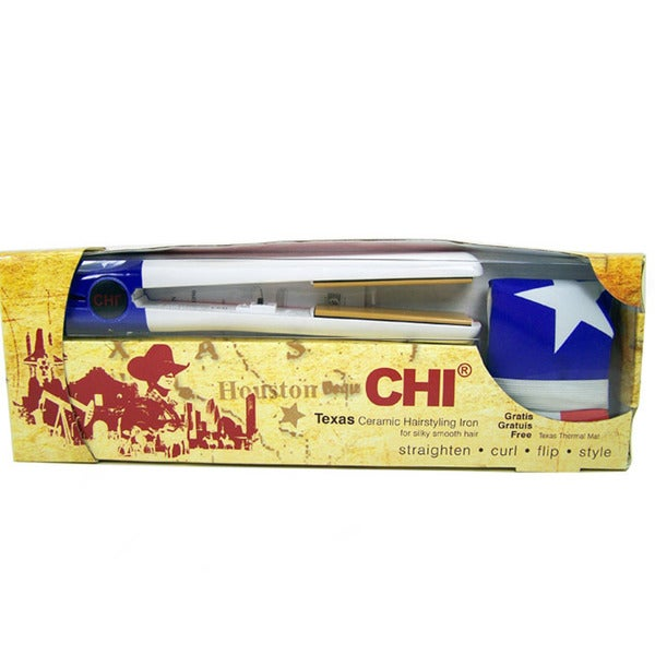 Farouk CHI Texas Flag Limited Edition Hair Straightener