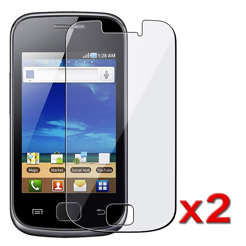 LCD Screen Protector Guard for Samsung Galaxy Gio S5660 (Pack of 2)