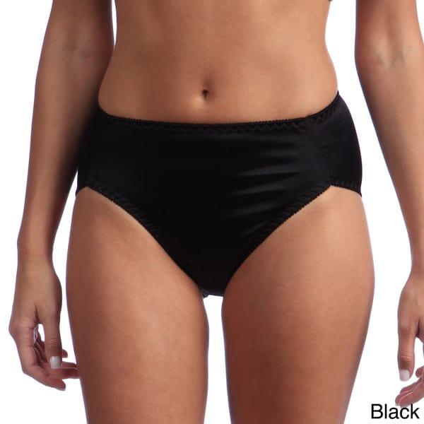 Ilusion Women's High-waisted Satin Bikini