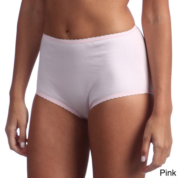 Ilusion Women's Cotton-blend High-waisted Brief
